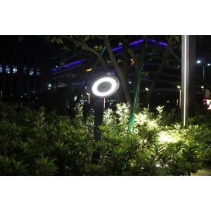 éclairage solaire jardin