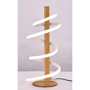 Lampe de chevet led spirale