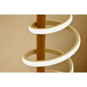 Lampe de bureau spirale LED