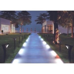 Balise solaire LED avec capteur PIR (2 unités)