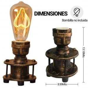 Lampe de table bronze