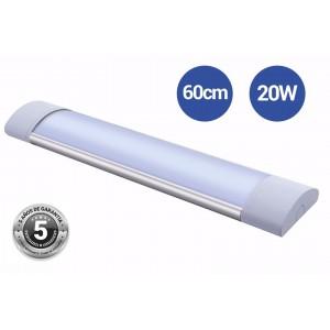 Linéaire LED 20W 60cm CCT avec capteur micro-ondes