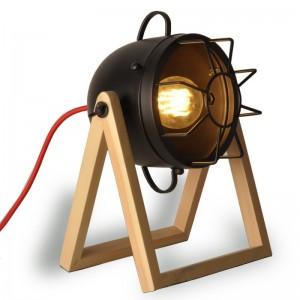 lampe table bois