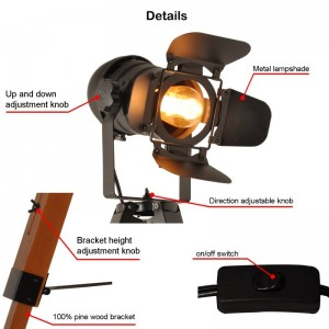 lampe cinéma ampoule E27