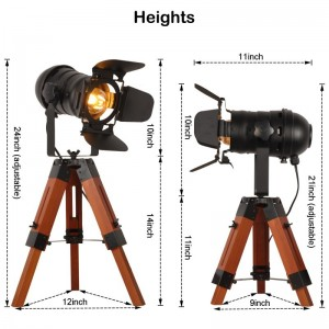 dimensions mini lampe cinema