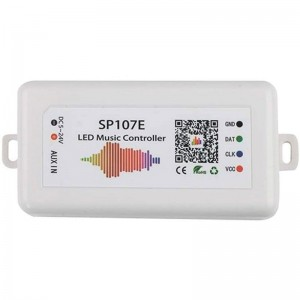 Contrôleur musical ruban LED RGBW IC Pixel SPI Bluetooth et Wifi