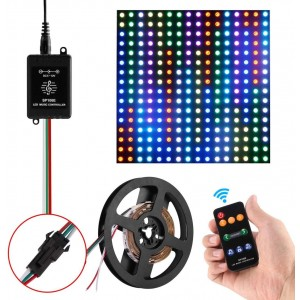 commande 9 touches ruban led ic