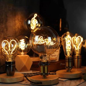 """Ampoule LED à filament """"LOVE"""""""