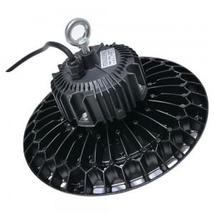 Cloche LED industrielle avec design extra-plat 100W