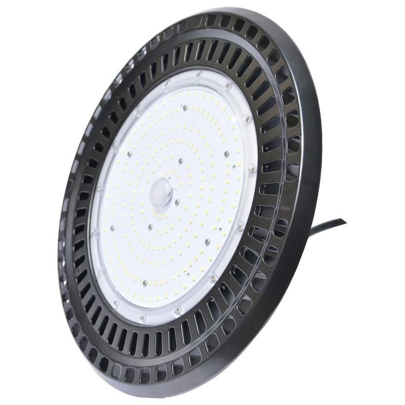 CLOCHE INDUSTRIELLE LED SLIM UFO 150W HAUT RENDEMENT 130LM/W CHIP SAMSUNG SMD2835 5000K