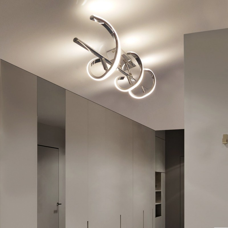 Projecteur LED pour rail Monophasé 12W