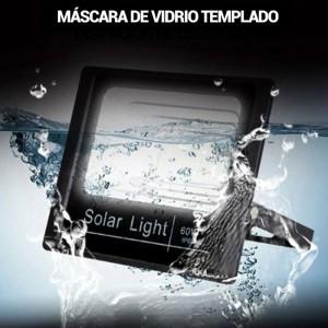 Projecteur LED solaire 60W avec télécommande