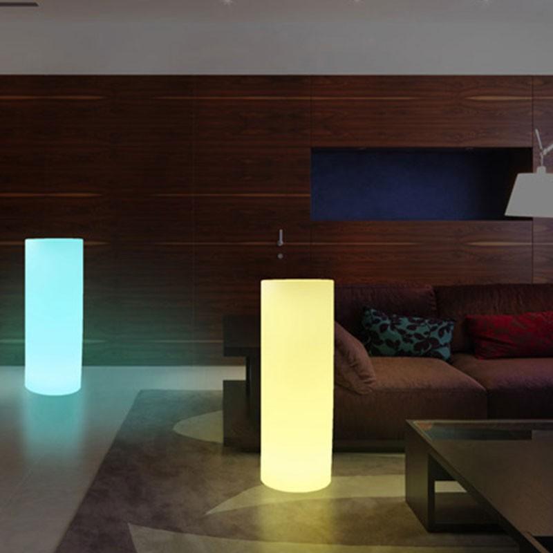 KIT Lumières LED de sol 6 balises RGB IP67