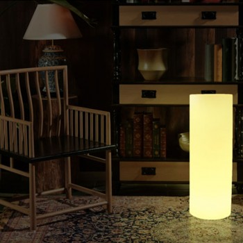 KIT Lumières LED de sol 6 balises RGB IP67 Ø58x9mm