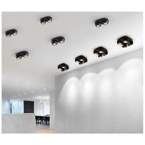 Applique LED 2 spots couloir