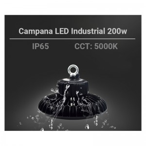 Cloche LED 200W UFO 200w 27500 lm Chip Samsung