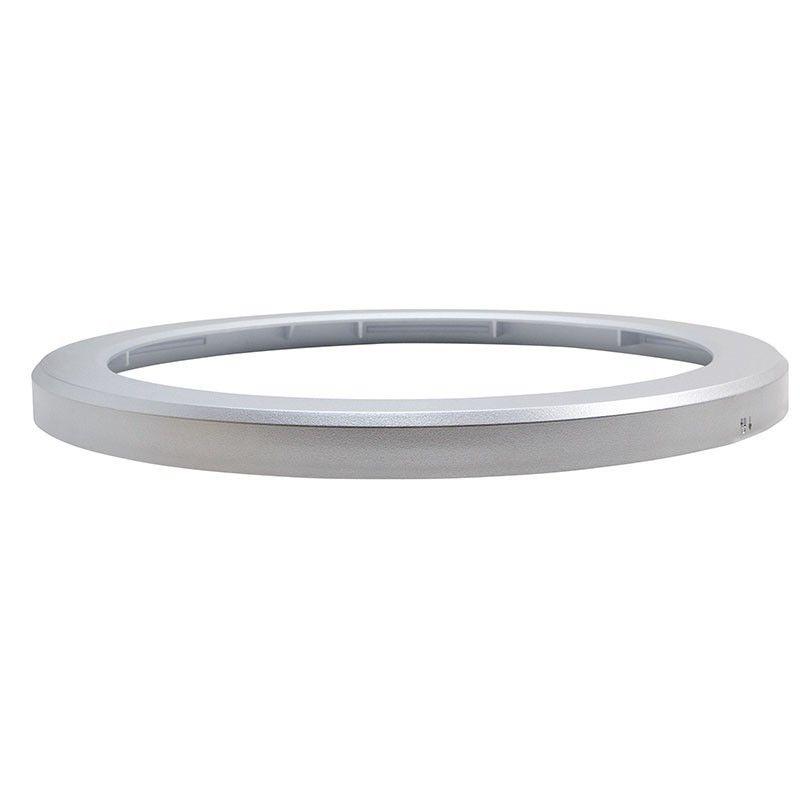 Cadre argent pour plafonnier LED universel 18 W B1293-S-CCT