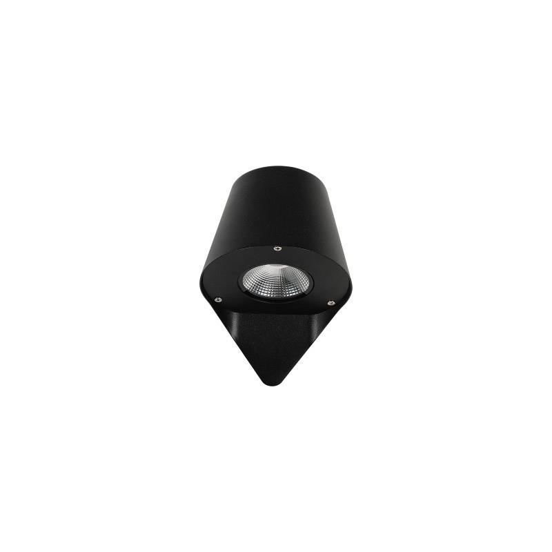 Aro redondo para dicroica LED basculante Color aluminio
