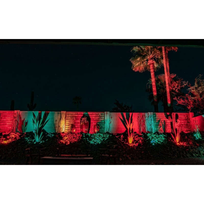 Manguera LED 230V Roja, rollo 50 Metros