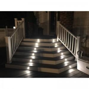 spots LED encastrable au sol Ø58x9 mm