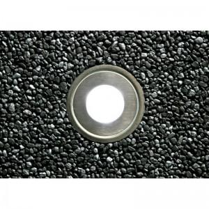 Spot LED encastrable au sol 0.5W 12V-DC IP67 Ø60x29,5mm 3000K
