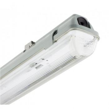 Boîtier étanche IP65 pour tube LED 120cm T8