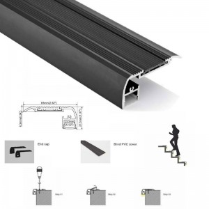 comment installer une bande led escalier ?