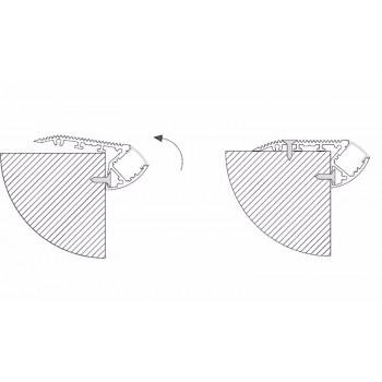 Variateur Triac LED regulable rotatif avec fonction ON/OFF 230V-AC 150W