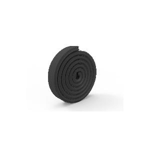 Diffuseur noir pour profilé aluminium