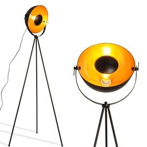 Lampe sur pied tripode
