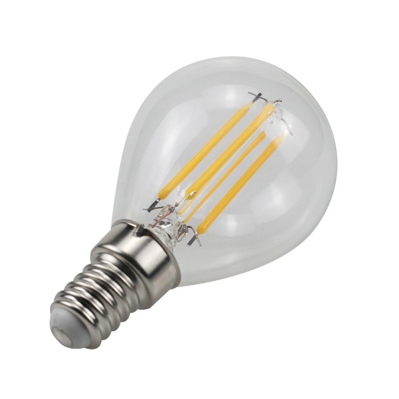 "Ampoule LED E14 4W G45 Filament ""Clear"""