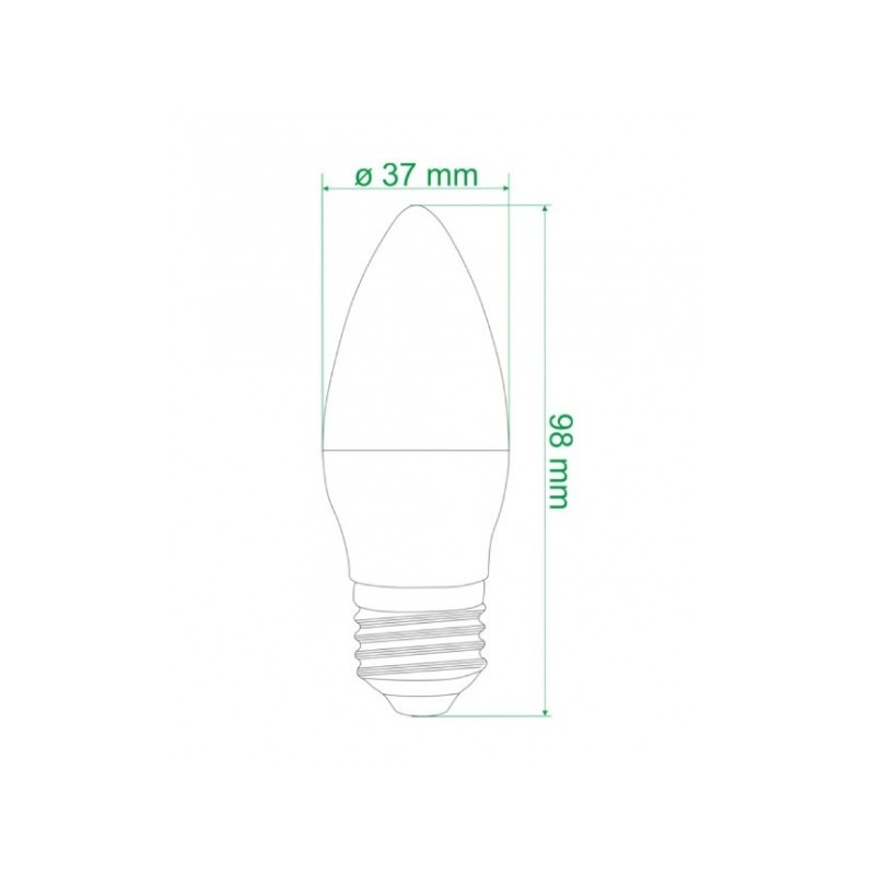 Ampoule LED CORN E27 12W
