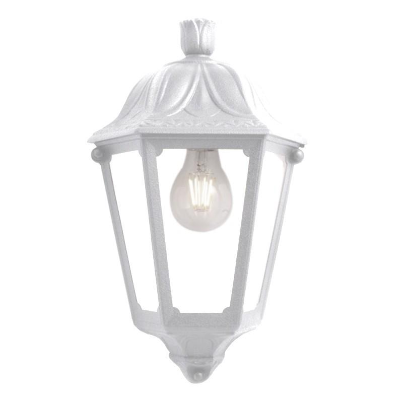 demi lanterne blanche extérieur