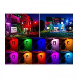 Projecteur LED RGB 30W IP65