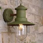Bombilla LED E27 color verde 1w