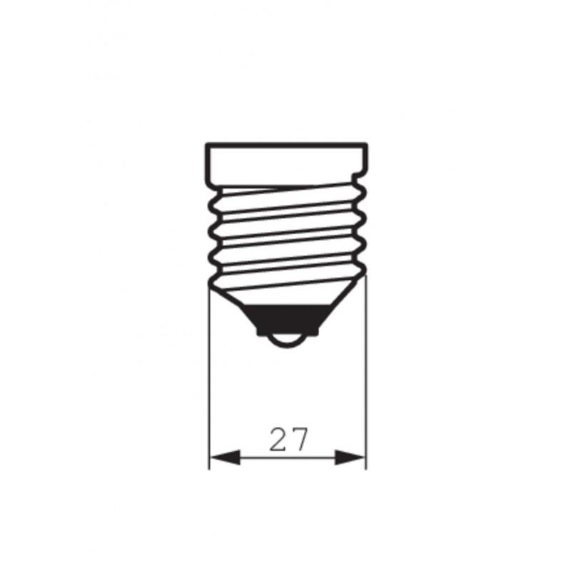 Estaca de aluminio para proyectores LED de exterior