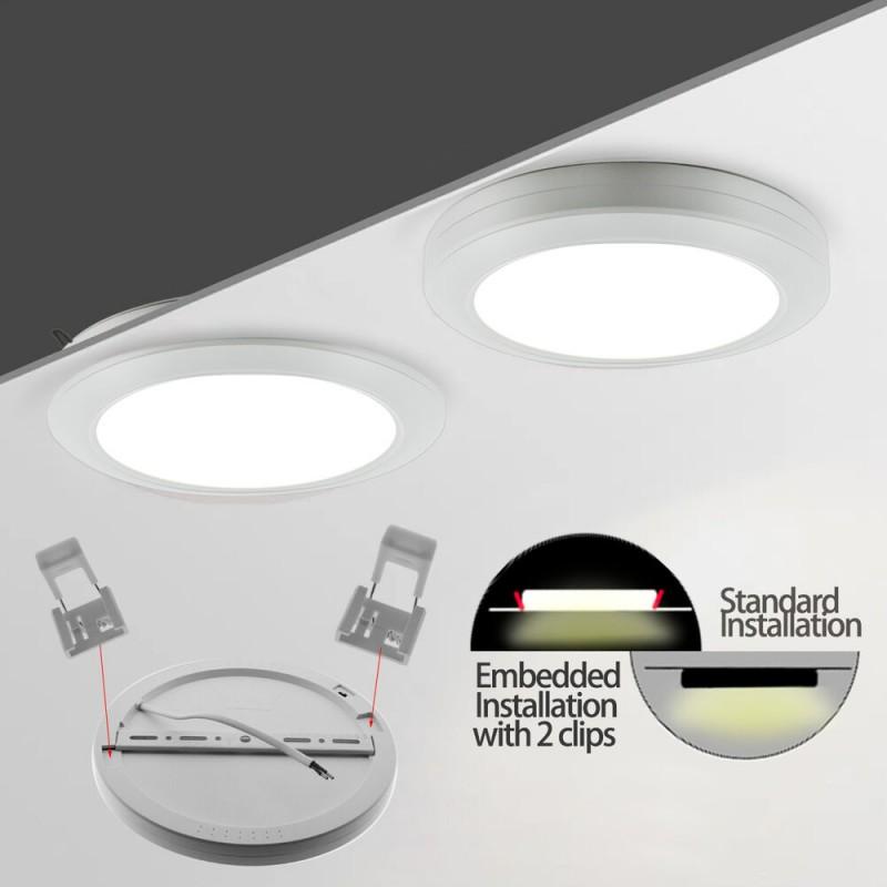 Panneau LED 60x60 cm 36W extra plat