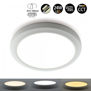 Spot LED multifonctions 24W CCT