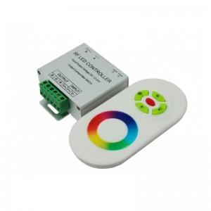 Contrôleur RGB 18A 12/24V DC + télécommande