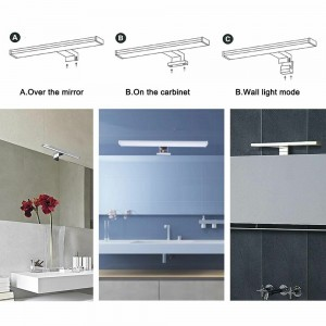 Lampe LED miroir salle de bain
