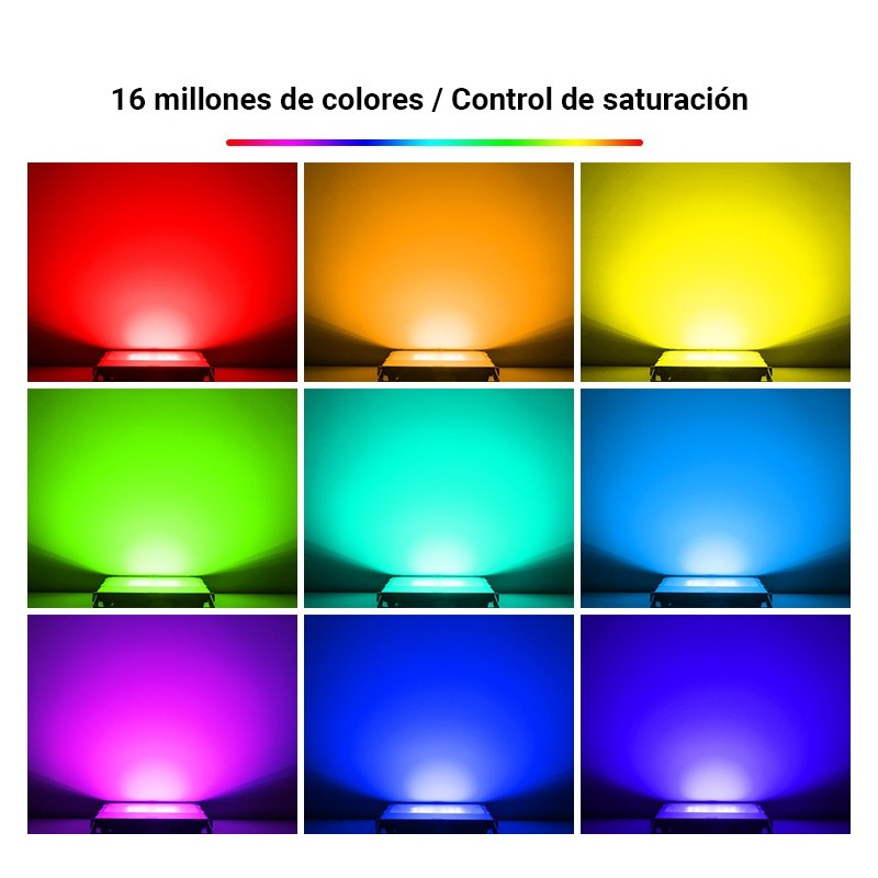 Panneau LED 120x30cm 36W + Kit de superficie