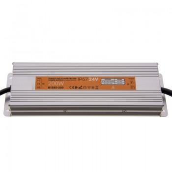 Transformateur 24V 200W 8.3A IP67