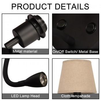 Ruban LED 230V Rouge x1m, IP65, angle 120º, SMD5630, 14W/m