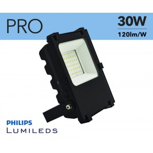 Projecteur LED extérieur 30W PRO chip Philips IP65