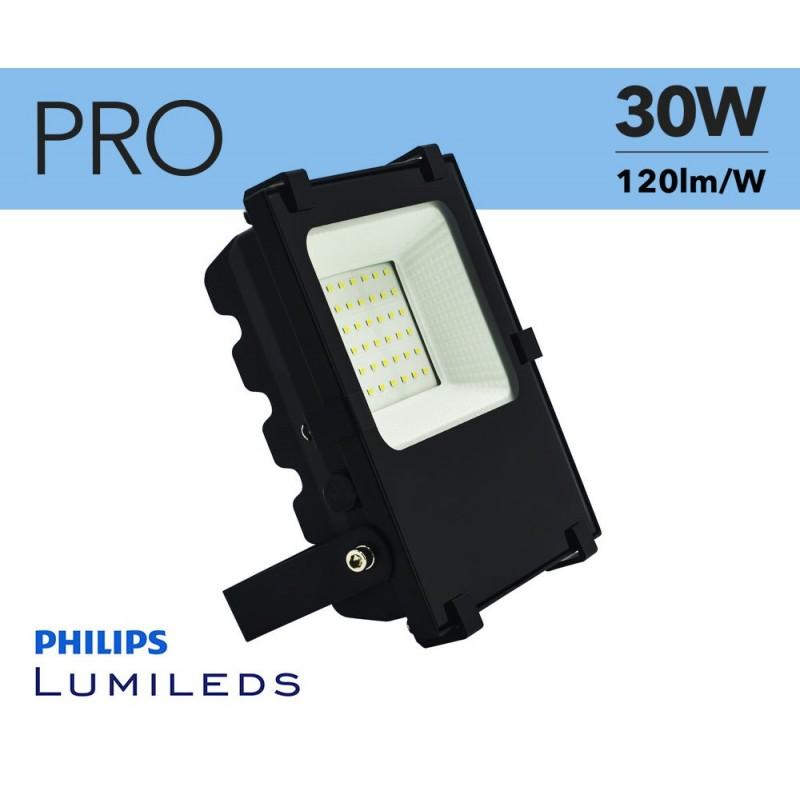 Projecteur LED extérieur 30W PRO chip Philips IP65