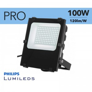 Projecteur LED extérieur 100W Chip Philips IP65