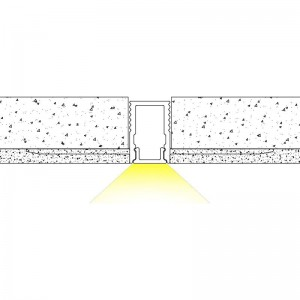 Luminaire LED étanche IP65 18W 60cm Blanc Froid