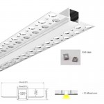 Tira LED Rosa de alta intensidad 24V 600 chips SMD2835 IP20, 90W (18W/m)