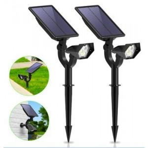 Spots LED solaires 2W avec capteur