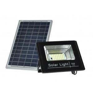 Projecteur LED solaire 25W avec télécommande